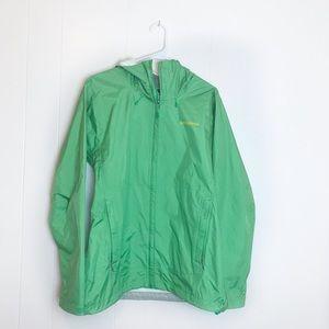 Women's Patagonia Green Rain Jacket
